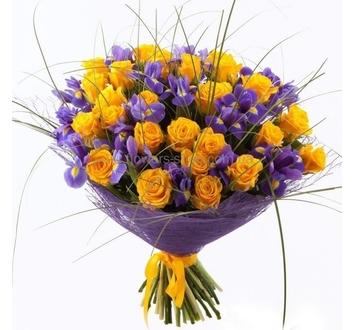 Букеты живые цветы фото